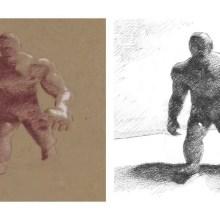 Un transfert en temps réel de styles de dessins manuels sur des modèles 3D