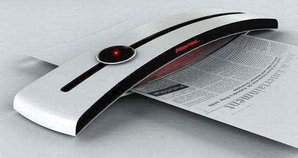 Nuevos ecológicos conceptos impresora