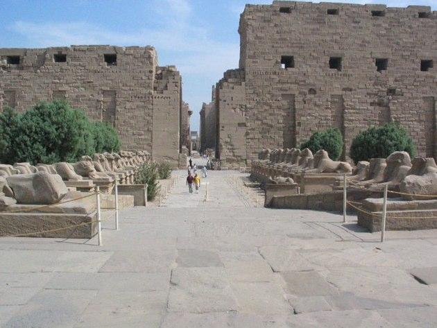 Amon ra templo