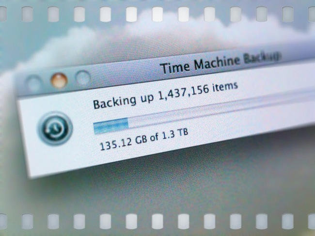 Backup time machine