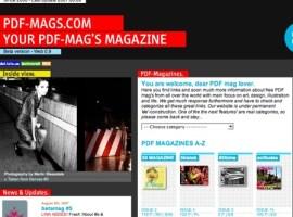 PDF-Mags recopila revistas en pdf