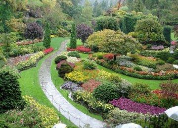 Los Jardines Butchard de Canadá
