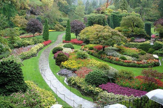 Jardines Butchard canadienses