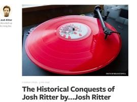 Josh Ritter cuenta en Medium cómo se grabó The Historical Conquests