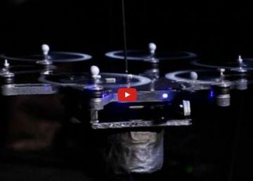 La primera banda de música integrada por drones