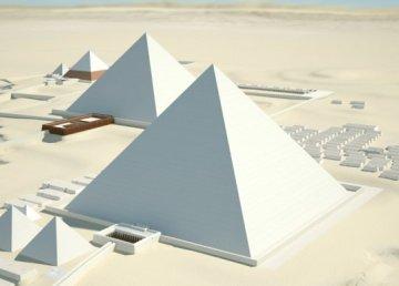 Giza 3D, una reconstrucción interactiva de las pirámides