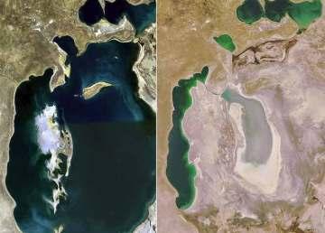¿Por qué el Mar de Aral casi ha desaparecido?