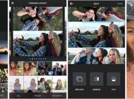 Instagram presenta Layout, una app para crear collages