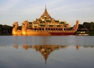 Karaweik-espectacular-embarcacion-Rangun