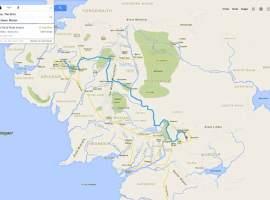 La Tierra Media en Google Maps: el mapa que Frodo y Sam utilizarían