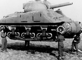 El Ejército Fantasma: los artistas que engañaron a Hitler con tanques hinchables