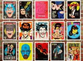 Butcher Billy, un artista apasionado por los cómics y la cultura pop