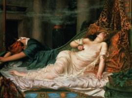 La Muerte de Cleopatra, por Reginald Arthur
