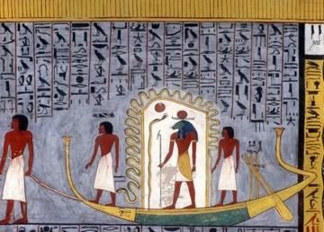 Descubren barco funerario bien conservado tumba egipcia 1