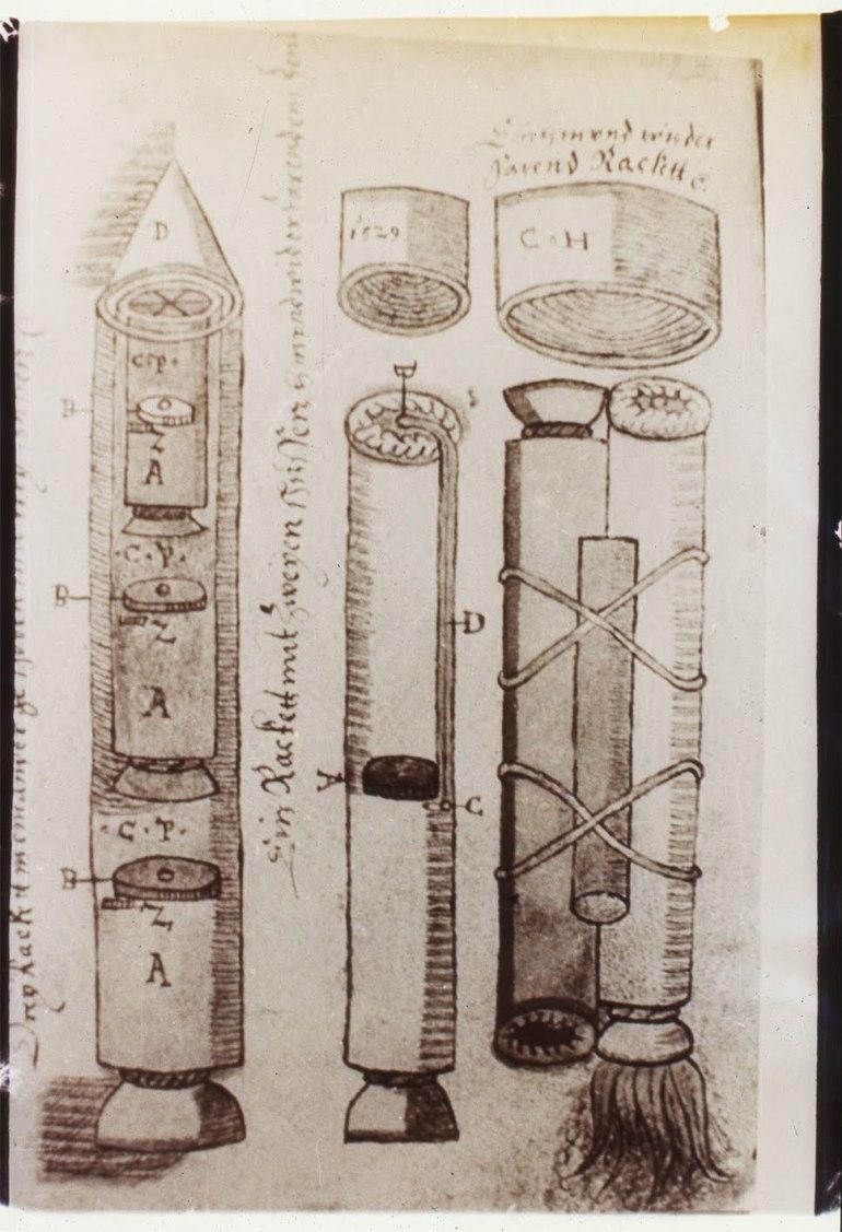 03 Schemele de racheta ale lui Conrad Haas