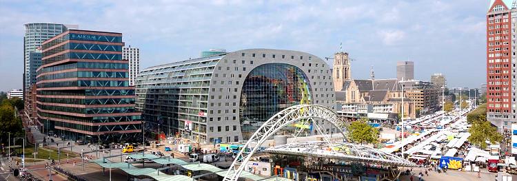 Markhat mercado futurista icono Roterdam