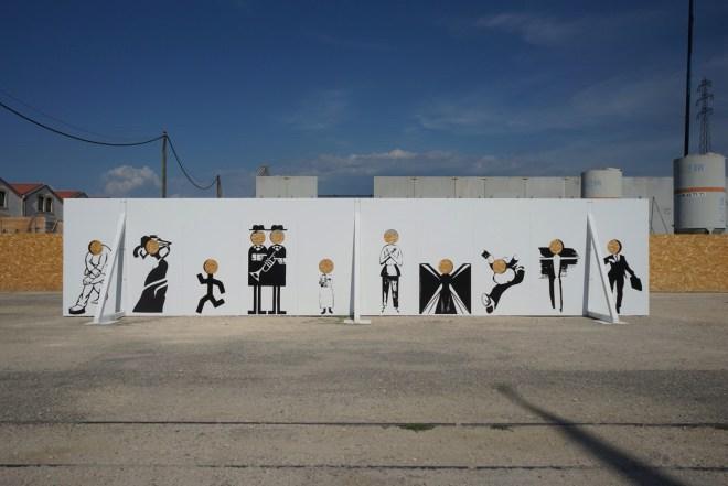 des visages, des figures - Arles