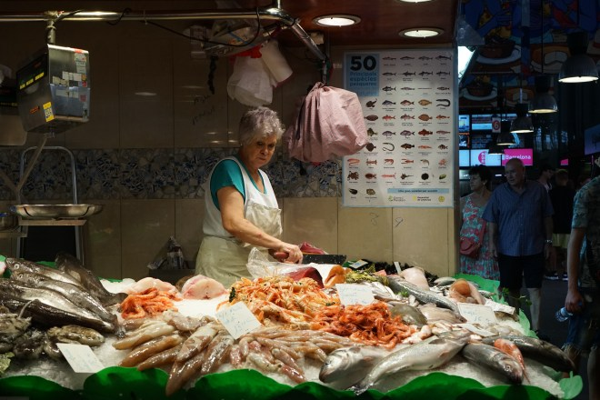 le marché - Barcelona