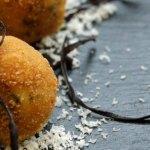 Receta casera de croquetas de queso cabrales con salsa de membrillo