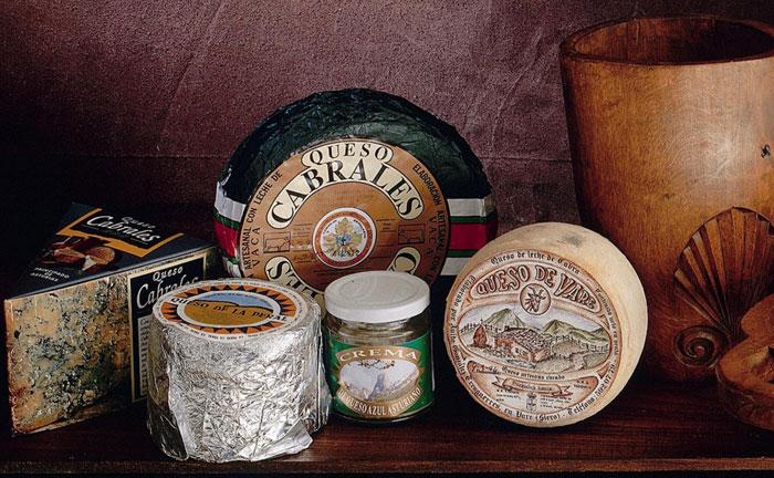 Tipos de quesos asturianos