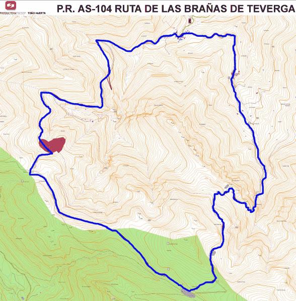 Ruta senderismo Asturias