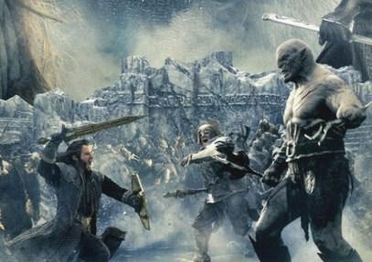 la batalla de los 5 ejércitos, batalla