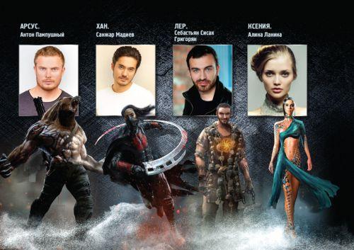 Guardians (2016) - película rusa de superhéroes Defenders-casting