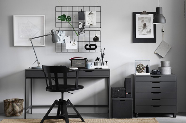 Workspace - Ikea Alex Desk - selected by La Chaise Bleue