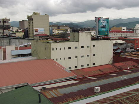 Centro de San José, visto desde uno de sus edificios altos