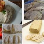 Cinco recetas saladas en MICROONDAS