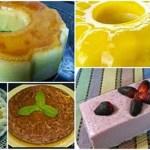 Cinco recetas de pudin