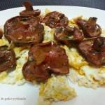 Níscalos-Rovellones a la plancha con huevo