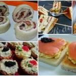 Cinco aperitivos para un día especial