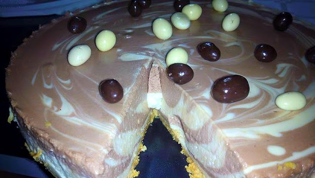 Tarta de chocolate y Baileys cocina facil