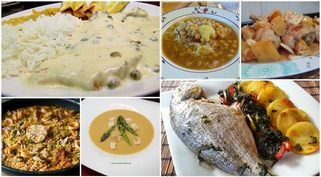 menu semanal 9. siete días, siete platos