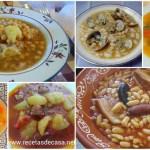 Seis tradicionales platos de cuchara