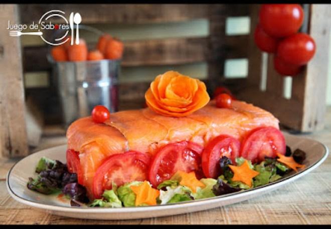 pastel con pan de molde