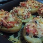 Gratén de patatas rellenas cocina facil
