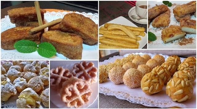 Seis dulces tradiciones y populares