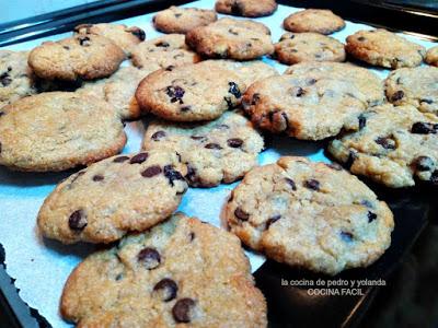 Cookies clásicas cocina fácil