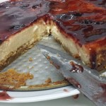 Tarta de queso cheesecake