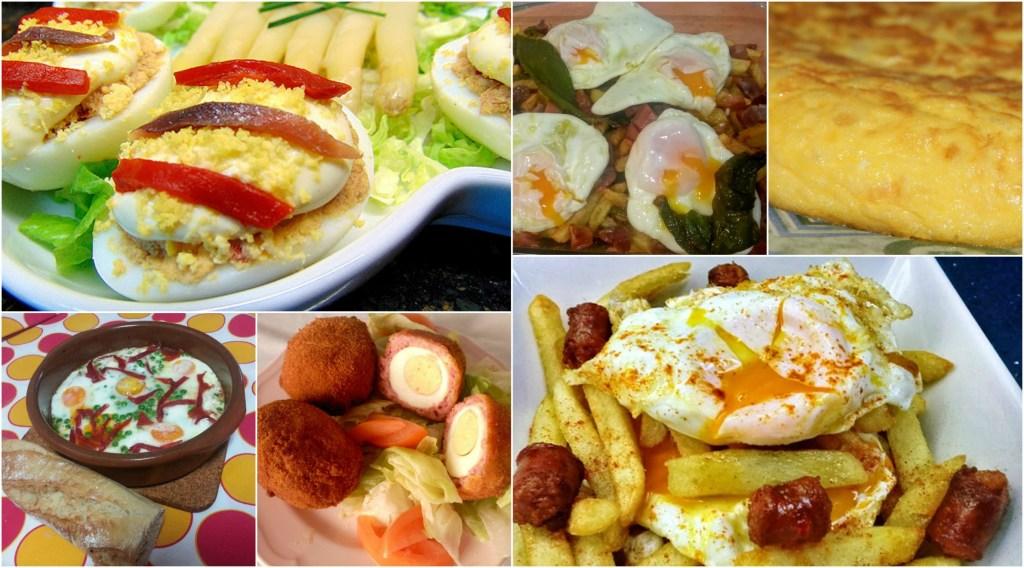 recetas fáciles con huevo