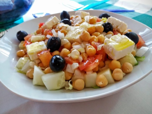 ensalada de garbanzos griega 2