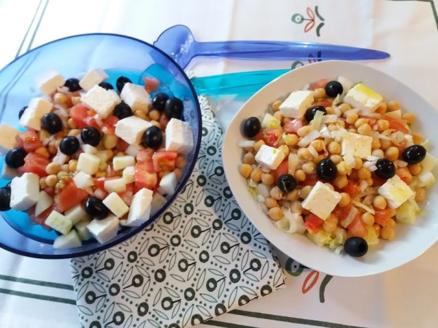 ensalada de garbanzos griega 4