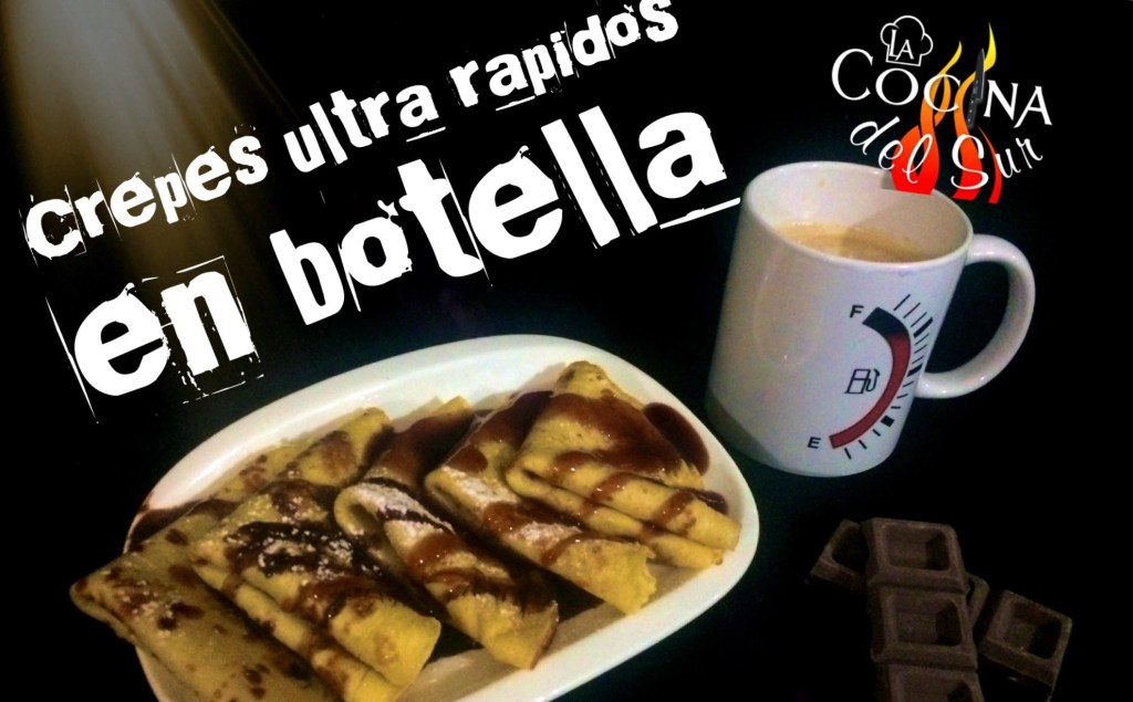 crepes en botella