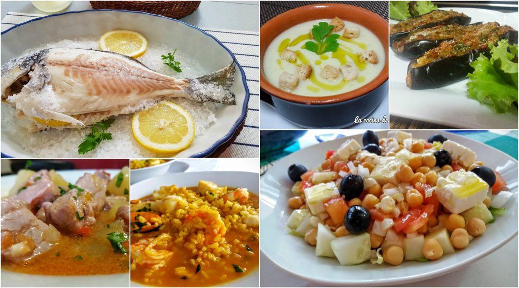 Men semanal saludable 44 la cocina de pedro y yolanda for Organizar comida semanal