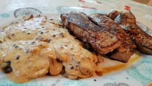 recetas de salsa a la pimienta para carnes