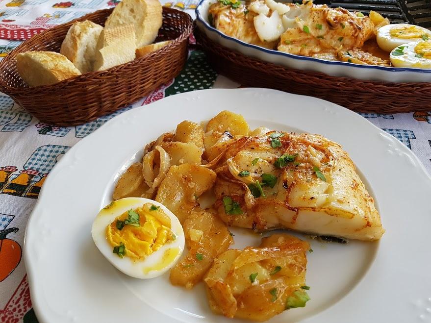 Cocinar Bacalao Al Horno | Bacalao Al Horno Con Patatas Bacalhau No Forno La Cocina De