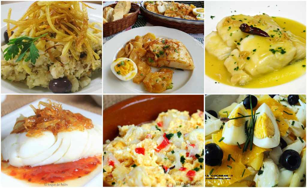 recetas de bacalao para semana santa