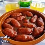 Choricillos a la sidra